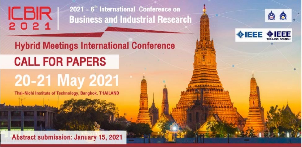International Conference on Business and Industrial Research (ICBIR2021)