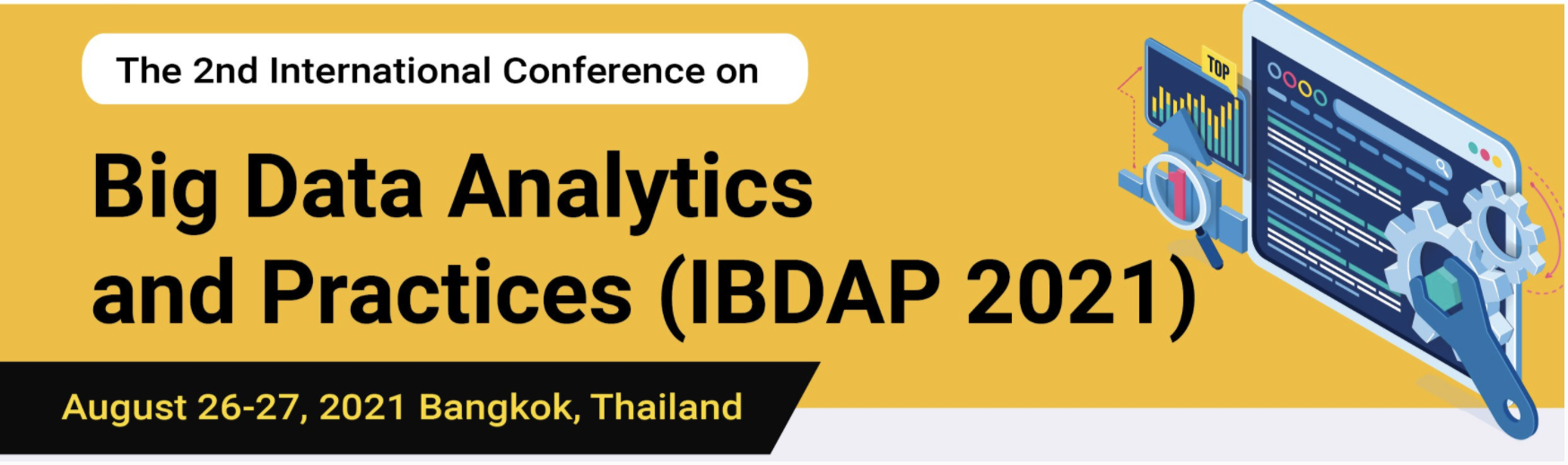 The International Conference on Big Data Analytics and Practices (IBDAP 2021)